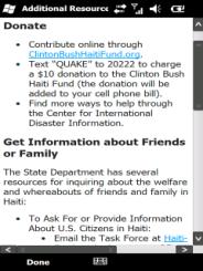 Help Haiti - Additional Resources