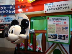 Mickey Mouse satellite dish
