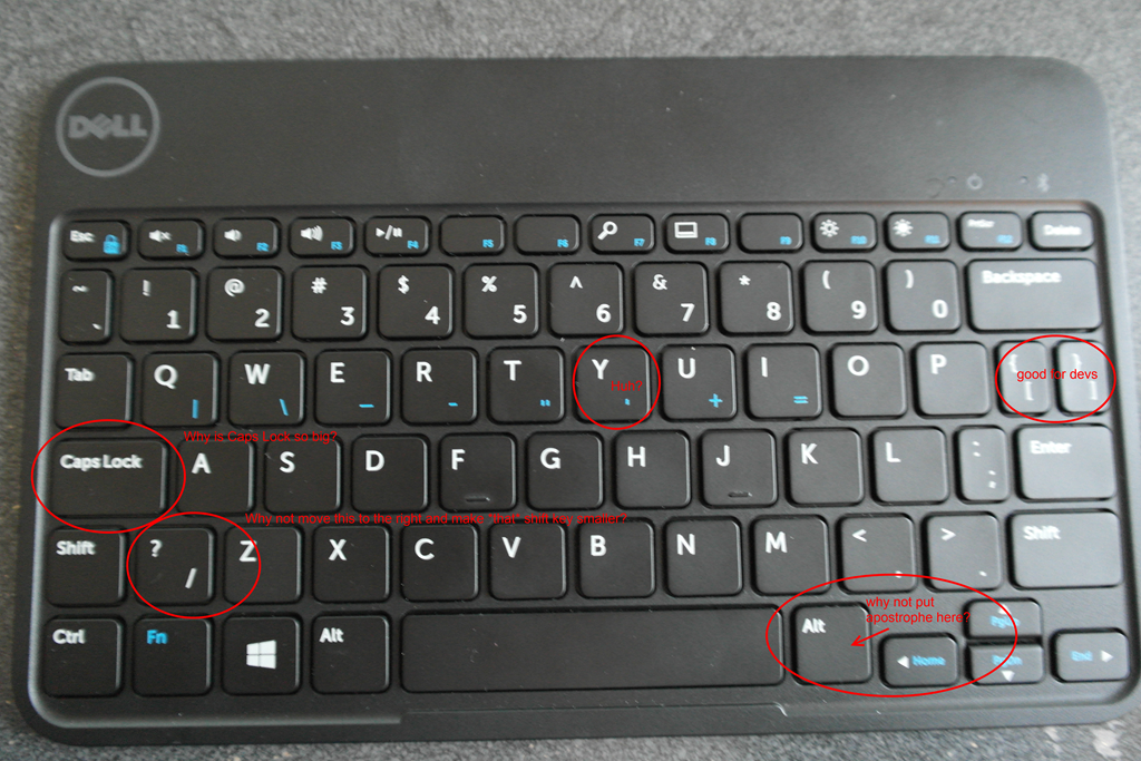 Review: Dell Tablet Wireless Keyboard + Folio Case | Auri's Blog